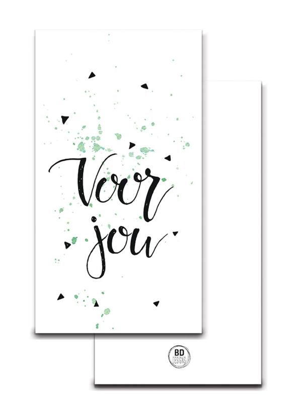 Voor jou | Minikaartje
