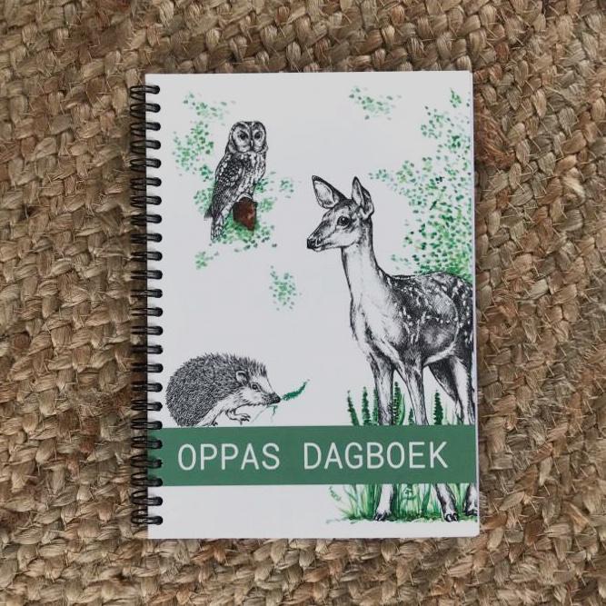 Oppas- Creche dagboek - Wire O Binding