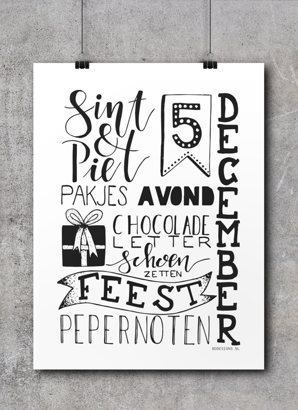 Sint Collage | A4 Poster