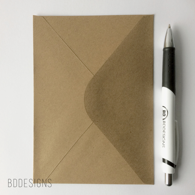 C6 Envelop | Kraft