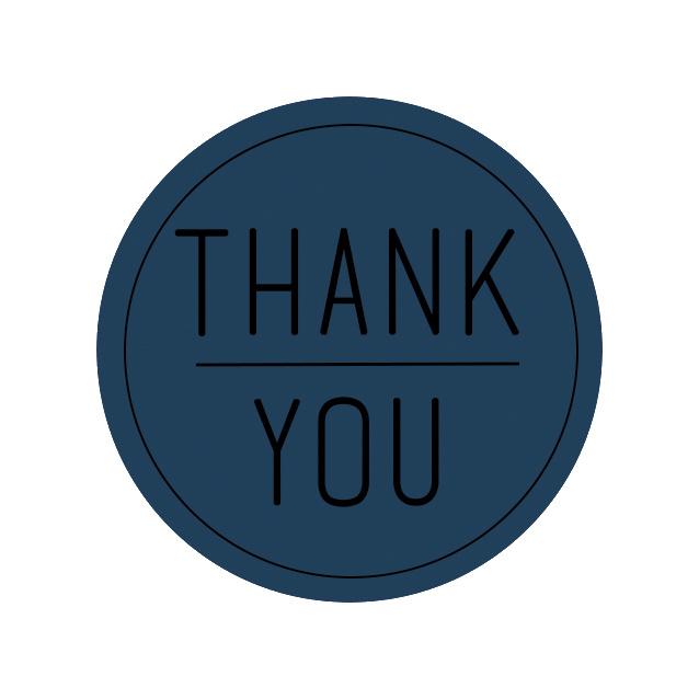 Sticker | Thank you