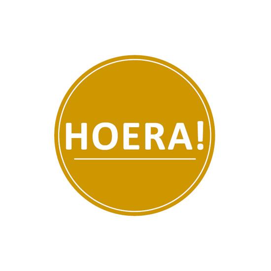 Sticker | Hoera - 5 st.