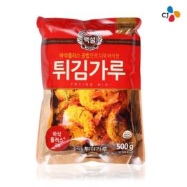 Frying flour mix 백설 튀김가루 500g (후라이드치킨 조리가능)