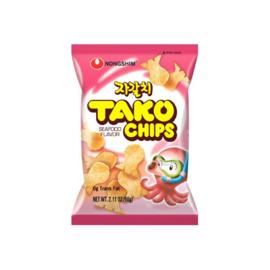 NONGSHIM Tako Chips 자갈치 60g