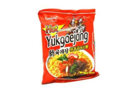 shin Yukgaejang Ramen 삼양 신육개장 라면 120g 1봉지