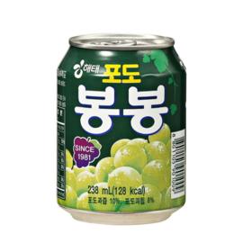 HAITAI Grape Bong Bong 포도 봉봉 238ml