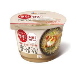CUPBAHN MILD BEANSPROUT SOUP WITH RICE 컵반 콩나물국밥