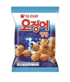 CUTTLEFISH & PEANUT SNACK 오리온 오징어 땅콩 98g