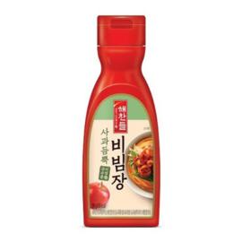 Red Pepper Noodle Sauce 해찬들 사과듬뿍 비빔국수 비빔장 290g(5인분용)
