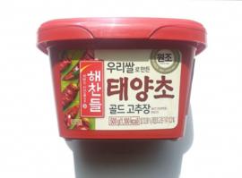 해찬들 우리쌀로 만든 태양초 골드고추장 500g / Red Pepper Paste 500g