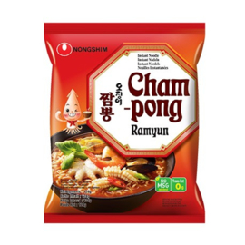 Champong Ramen 오징어 짬뽕 124g