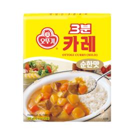 OTTOGI RETORT Curry 3Minute 오뚜기 3분 카레(순한맛)