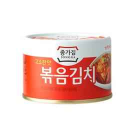 Roasted Kimchi-Can 종가집 볶음김치 (고소한맛) 160g