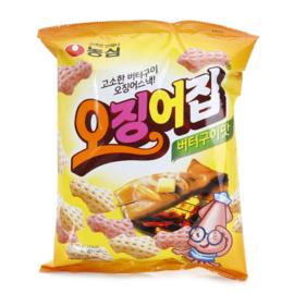 Nongshim Squid zip snack 농심 오징어집  55G