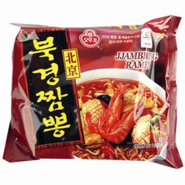 Bukyung Zzangbbong ramen 오뚜기 북경짬뽕라면 120g 1봉