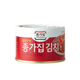 Mat Kimchi-Can 종가집 캔김치 (깔끔한맛) 160g