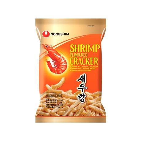 NONGSHIM Saewookkang Shrimp Crackers 새우깡 75g
