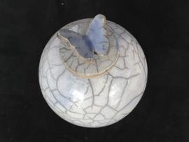 Zacht blauwe vlinderurn (400ml)