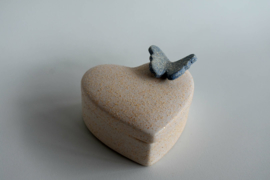 Harten urntje (110ml)