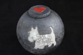 """Hondenurn """"West Highland Terrier"""""""