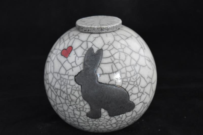 """Konijnenurn XL """"Bunny"""""""