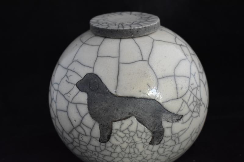 """Hondenurn """"retriever"""" (XL)"""