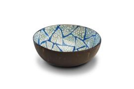 Kokosnoot schaaltje Blue Eggshell
