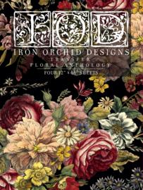 IOD Transfer Floral Anthology