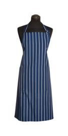 Keukenschort Brasserie Blauw/Wit