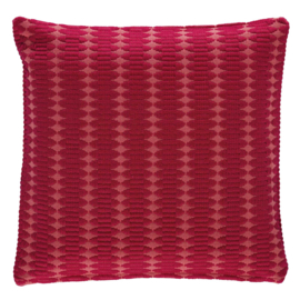 Kussenhoes Lucca Red  40 x 40