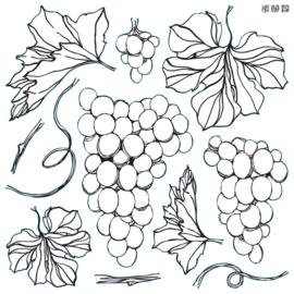 IOD stempels Grapes