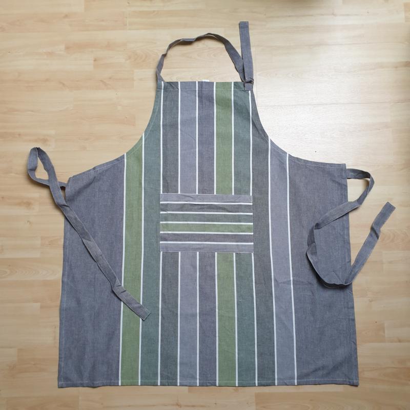 Keukenschort Marche Leaf-Graphit