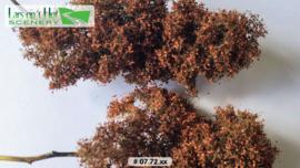 Struikgewas herfst - bruin blad