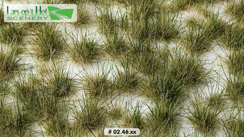 Grass tufts two tone - summer