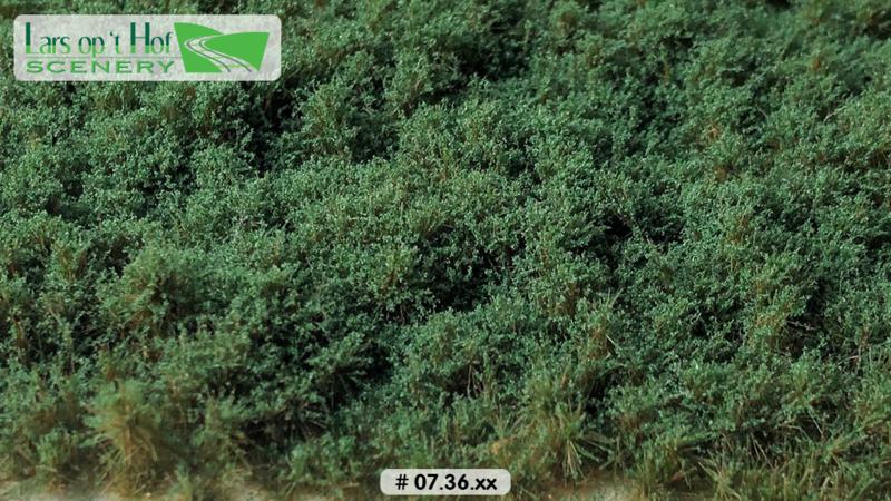 Struiken donkergroen - laag