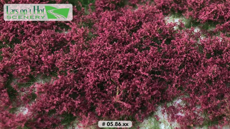 Flower tufts purple