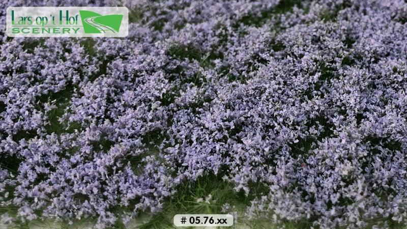 Flower tufts lavender