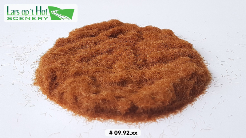 Static grass brown - short