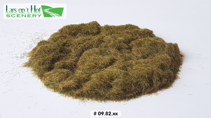 Static grass hay - short