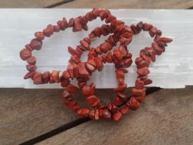 Rode Jaspis - armband