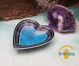 Mini hart schaaltje - Blauw