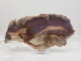 Paarse Chalcedoon - Schijf