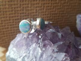 Opaal dublet - Oorbellen