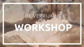 23 april 2020 - Minerale make-up workshop