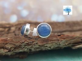 Blauwe Kyaniet - Oorbellen