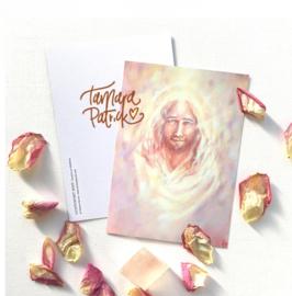 Lichtpotret Jezus - Postkaart