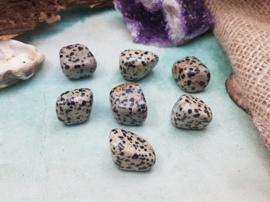 Dalmatiër Jaspis - Knuffelsteen S