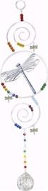 Libelle Raamkristal