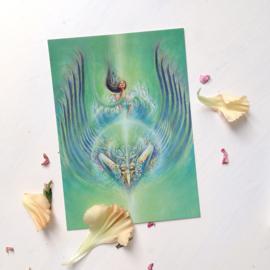 Ratu Kidul - Postkaart