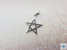 Pentagram - Sterling Zilveren Hanger